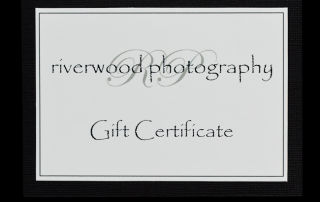 Riverwood Photography Gift Certificate