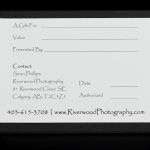 Riverwood Photography Gift Certificate created by The Uncommon Bride