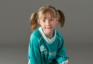 Portrait of Melanie | Carburn Sports Youth Soccer Pictures