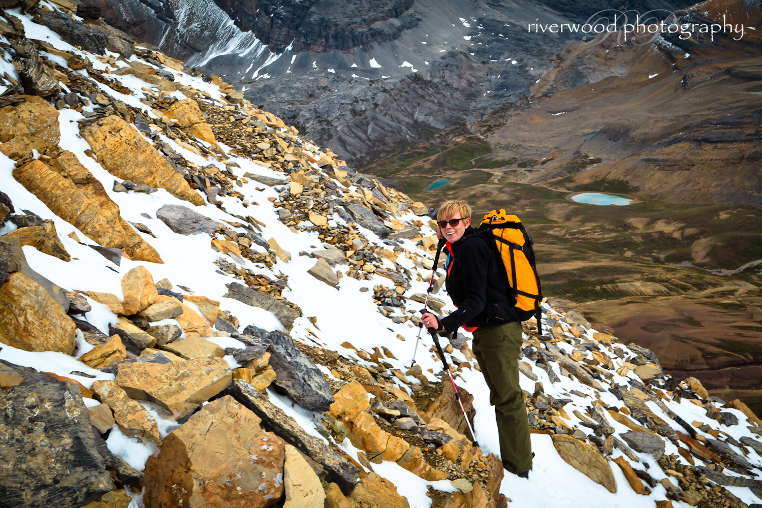 The Final Ascent to Cirque Peak