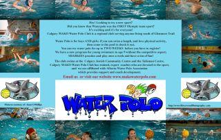 Mako Water Polo Club Poster 2010