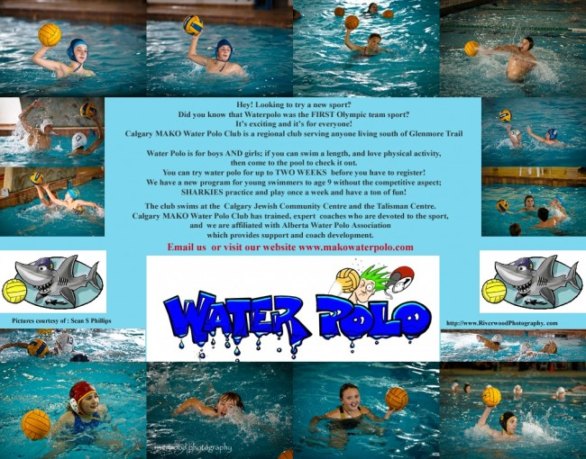 Mako Water Polo Club Poster 2010