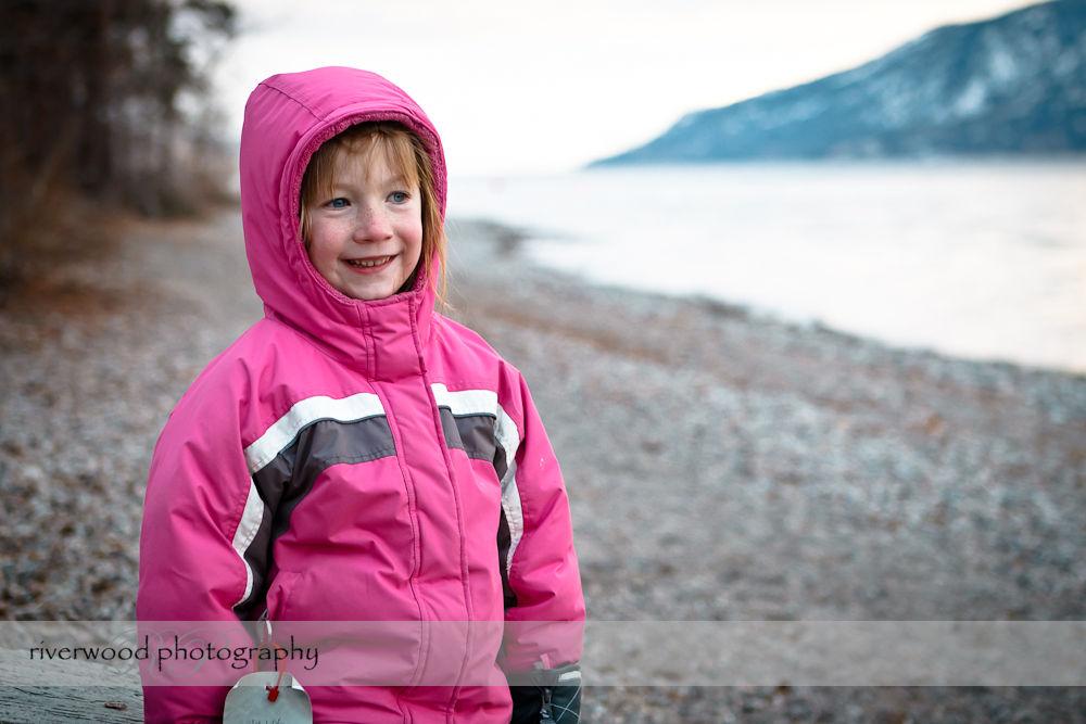 Walking at Lake Okanagan
