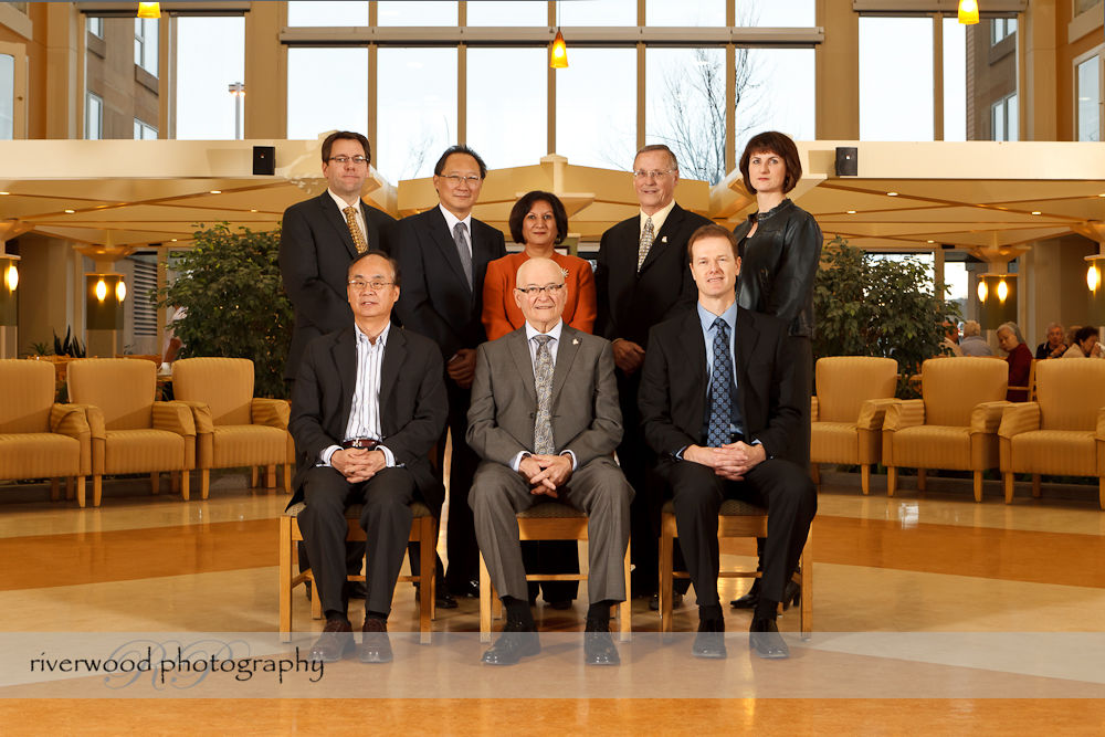 Group Portrait of the Board of Directors of MCF Housing