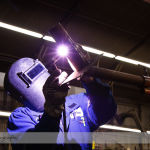 Industrial Photography of a Commercial Welder