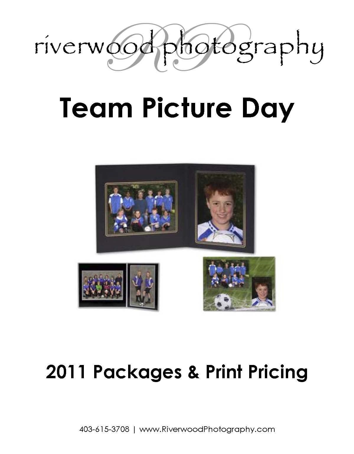 Picture Day Packages and Pricing for Sports Teams and Clubs