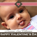 Valentines Day Photo Greeting Card Design (1)