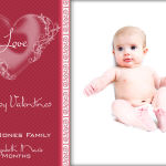 Valentines Day Photo Greeting Card Design (2)