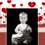 Valentines Day Photo Greeting Card Design (3)