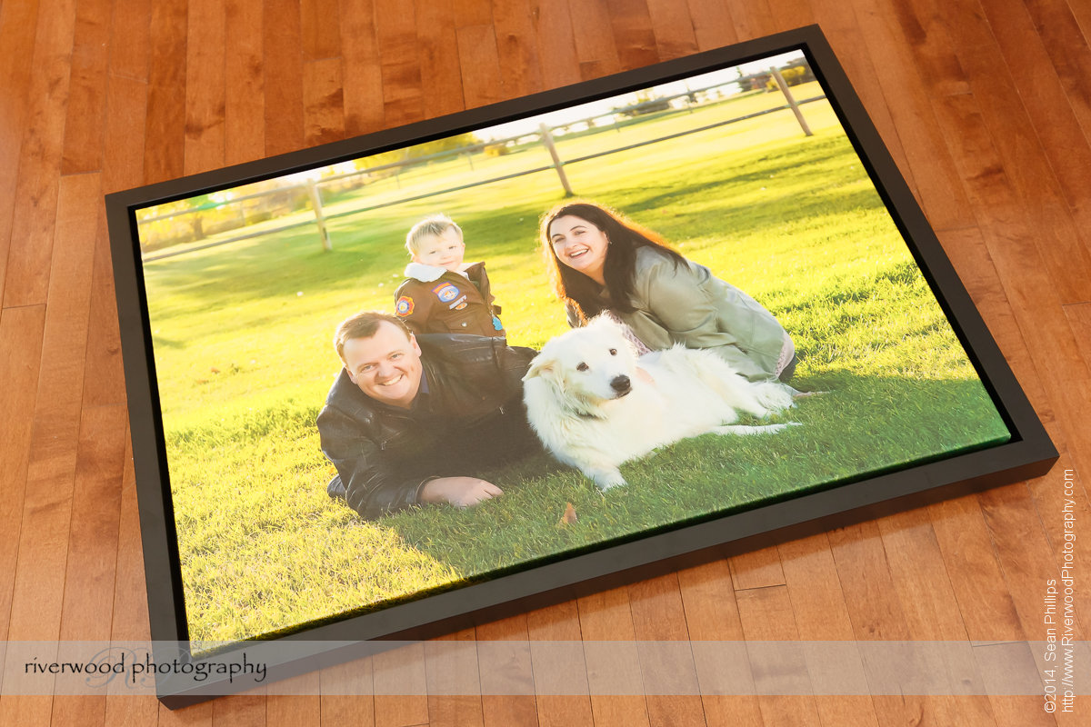 Product Showcase - Framed Canvas Gallery Wrap Print