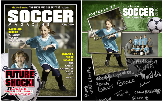 New Soccer Memorabilia Print Products