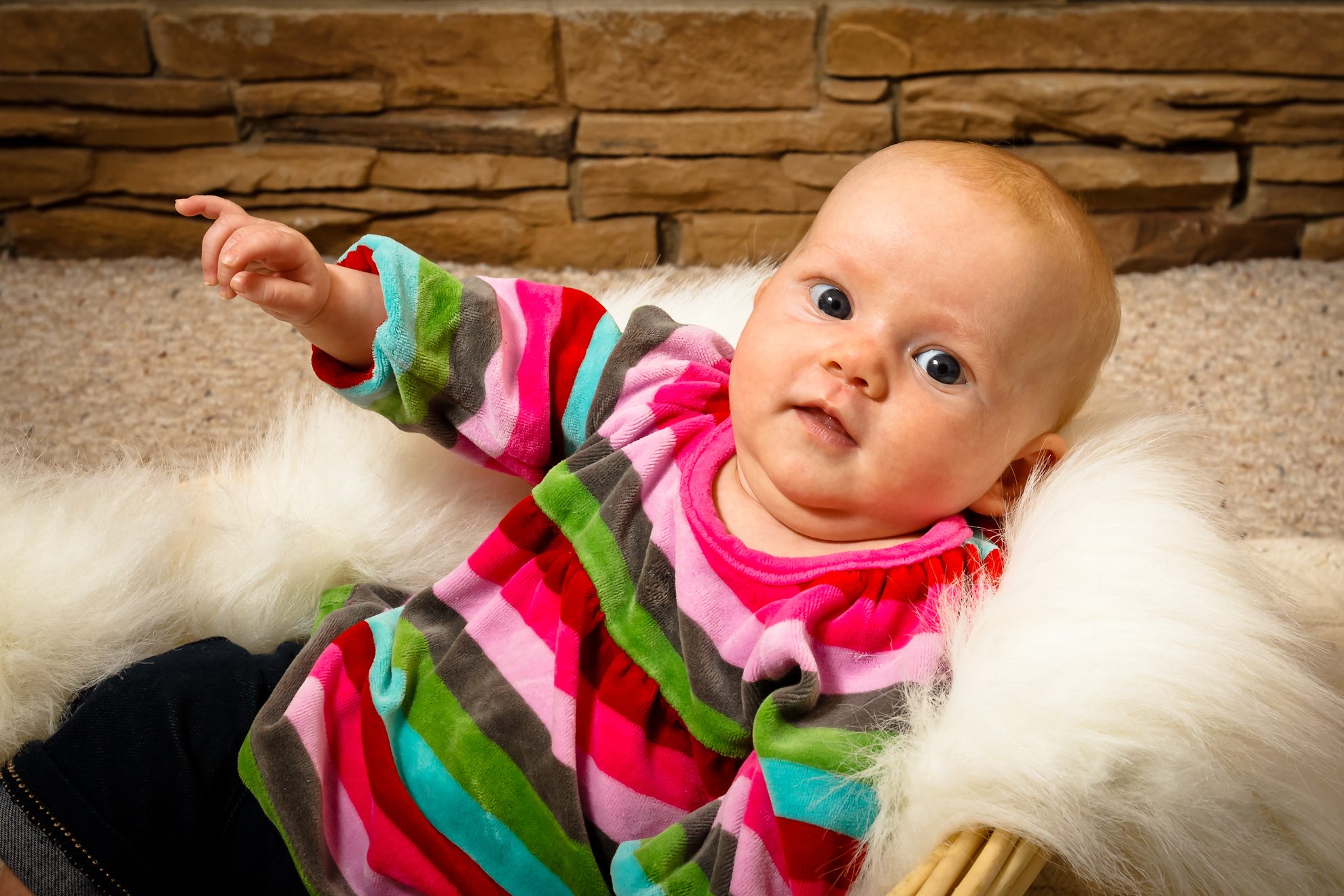 Baby Althea from a recent Calgary Family Portrait Session
