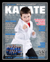 Magazine Cover - Karate