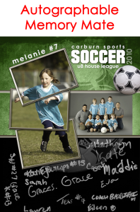 Autographable Memory Mate - Soccer