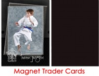 Magnet Backed Trader Cards - Karate