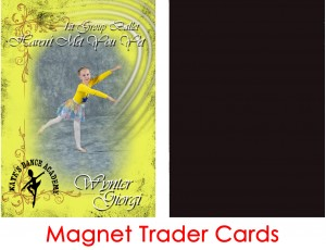 Magnet Trader Cards - Dance