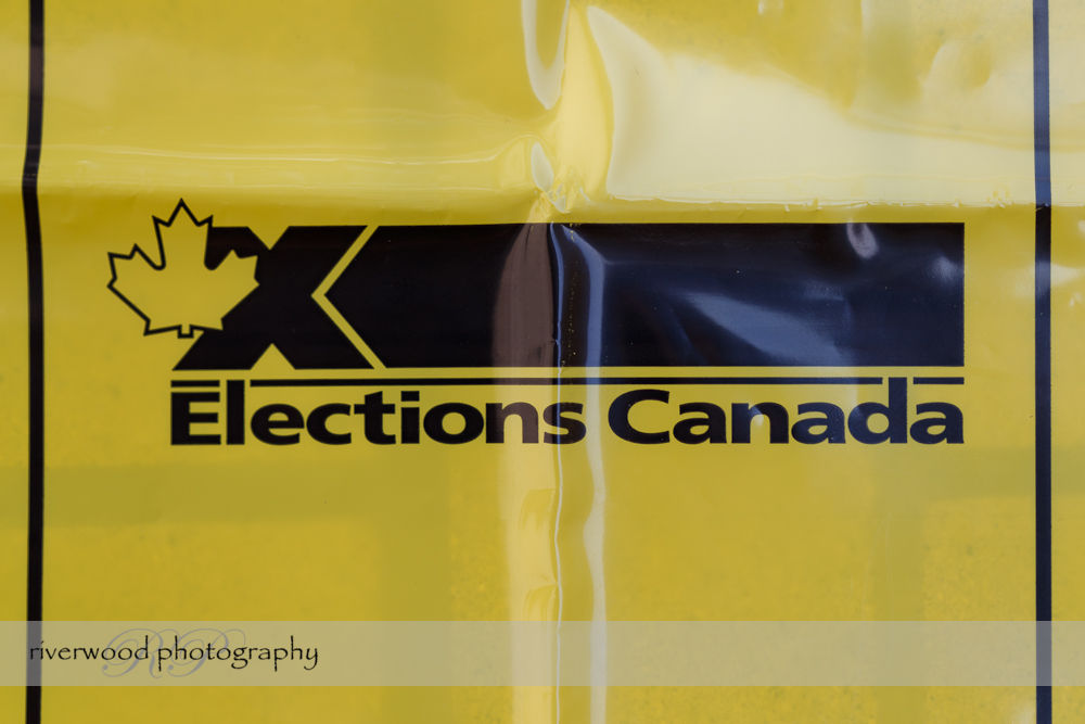 Voting Day in Canada