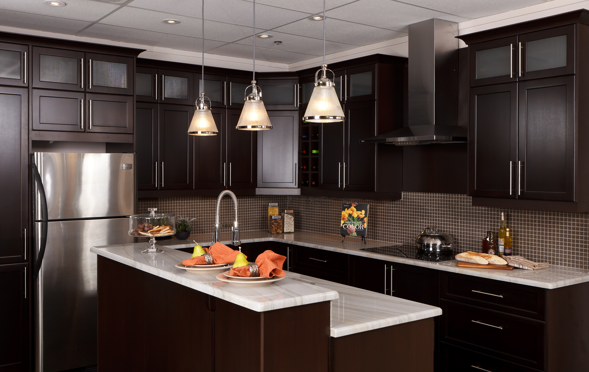 Commercial photography at action cabinets in calgary 403 for Calgary kitchen cabinets