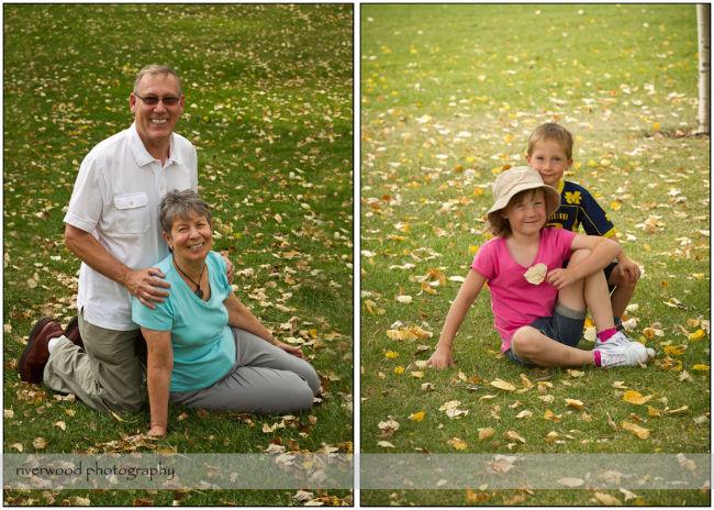 Fall Portraits at Prince's Island Park