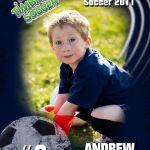 Magnetic Trader Card - Andrew Soccer