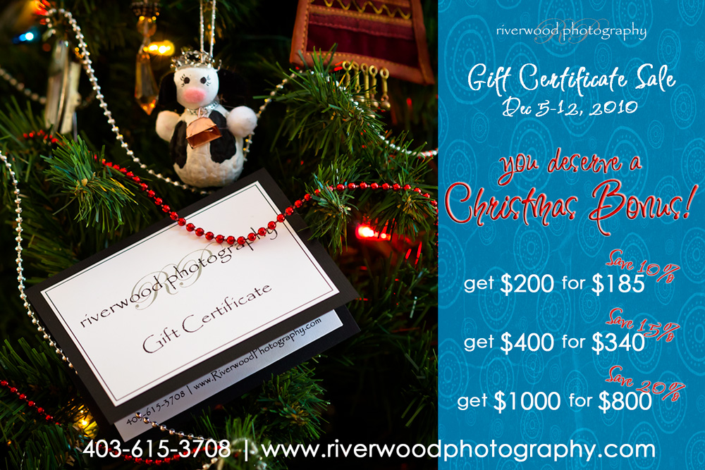 2011 Annual Gift Certificate Sale