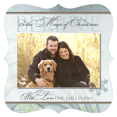 Sample Boutique Christmas Card