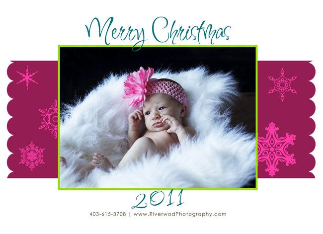 Sample Christmas Greeting Card