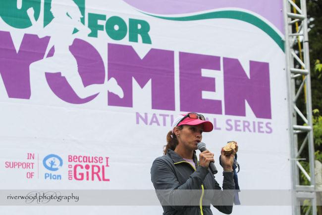 Calgary Starbucks Run for Women