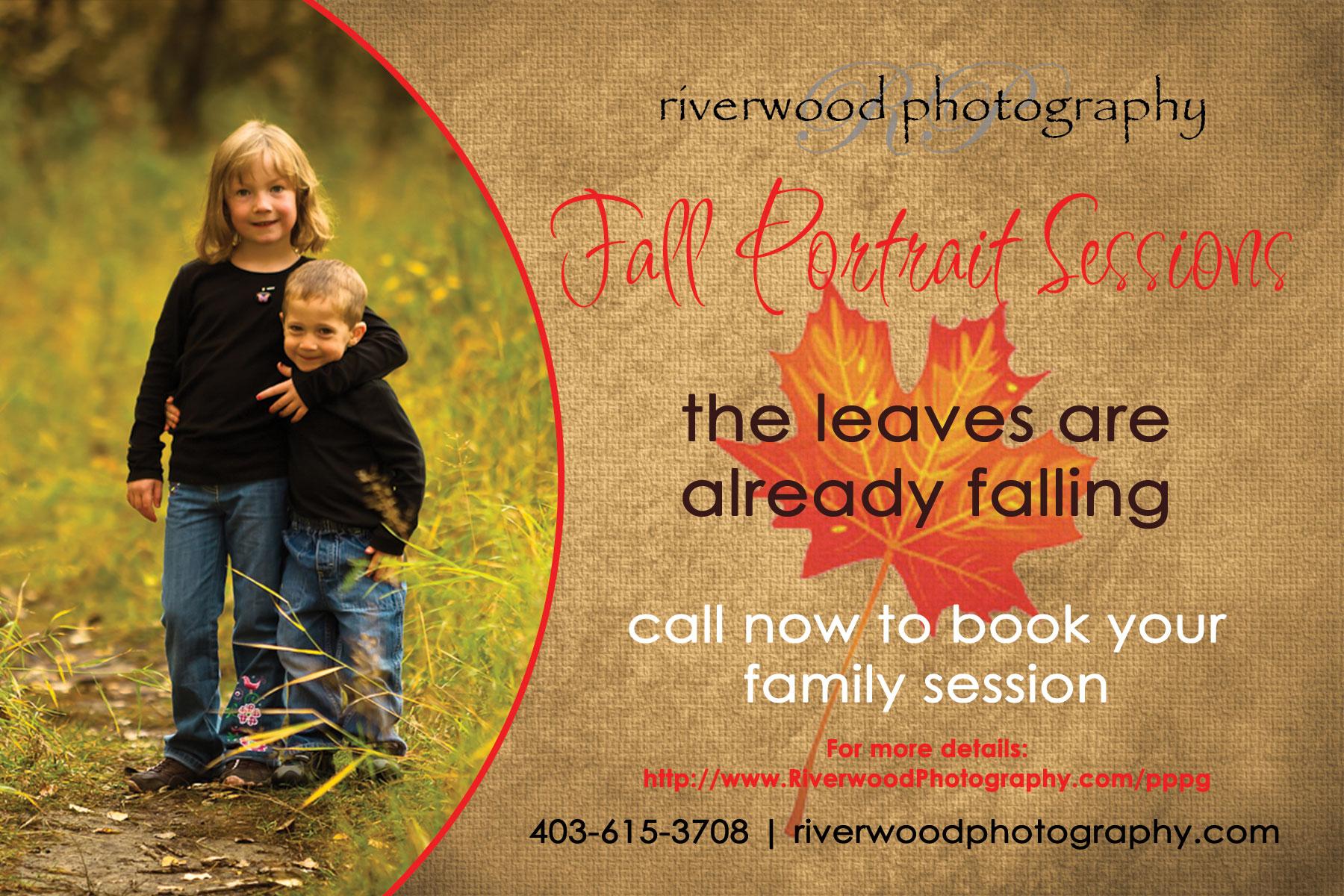 Calgary Fall Portrait Sessions