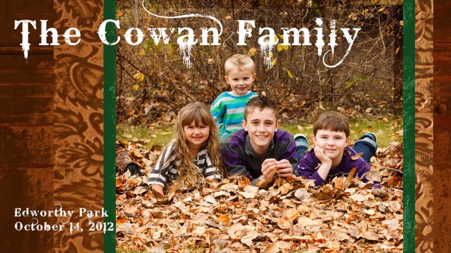 Extended Cowan Family Fall Portrait Session at Edworthy Park in Calgary (1)