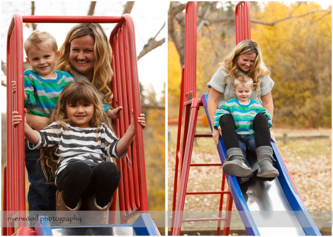Extended Cowan Family Fall Portrait Session at Edworthy Park in Calgary (9)