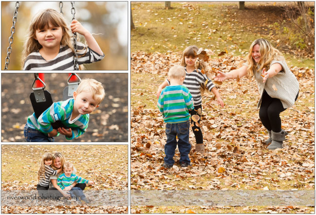 Extended Cowan Family Fall Portrait Session at Edworthy Park in Calgary (2)