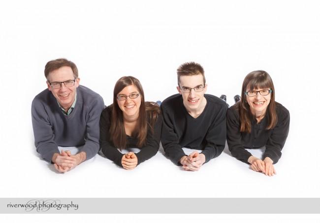 Studio Portraits for the Buchanan Family