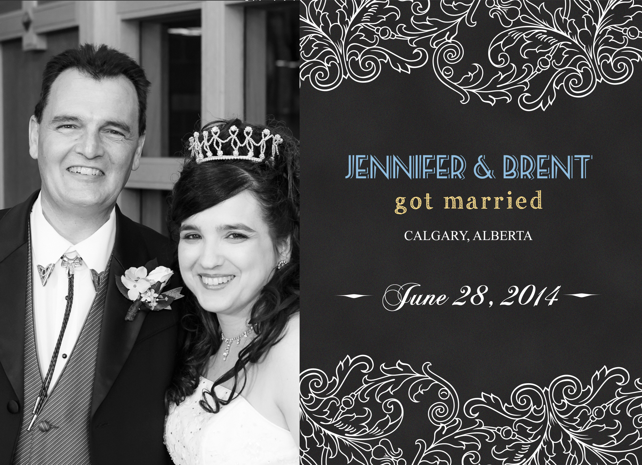 Wedding Photography for Jennifer and Brent