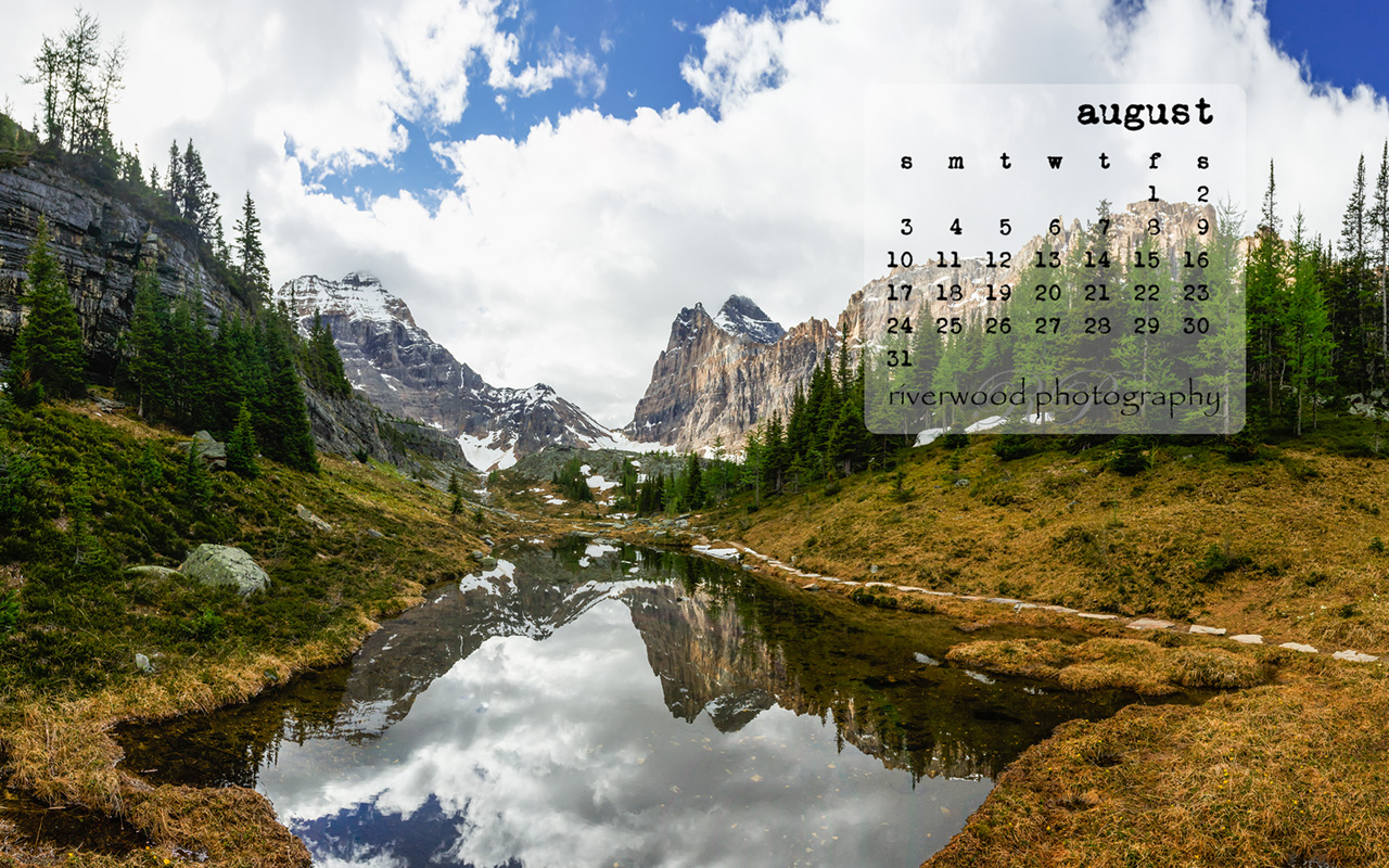 August 2014 Calendar Desktop Wallpapers
