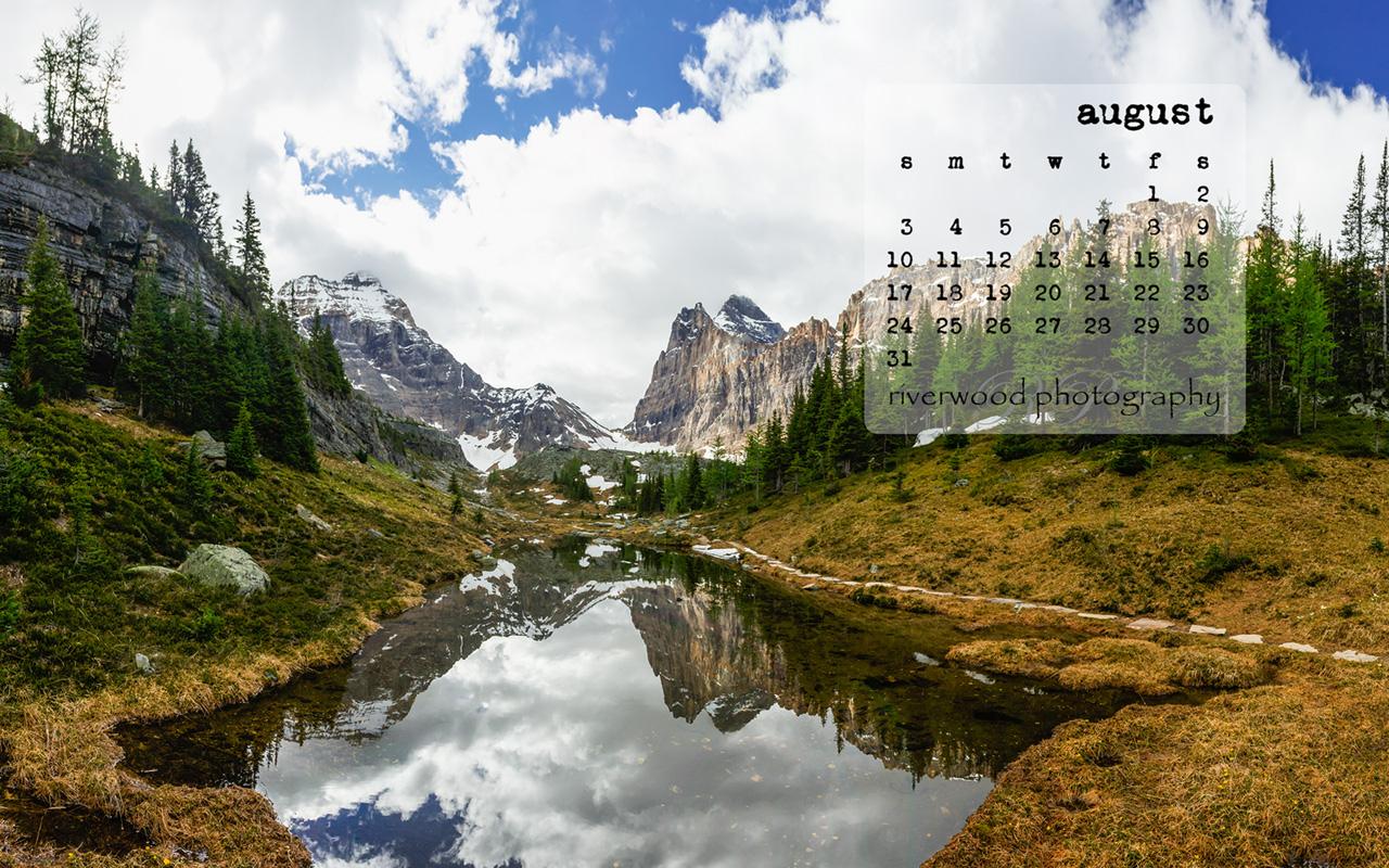 Free Desktop Wallpaper for August 2014