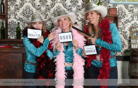 Custom Photobooths at a Calgary Stampede Event