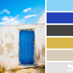 Sample Color Palette from Design Seeds - A Door Hues