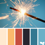 Sample Color Palette from Design Seeds - Holiday Sparkle