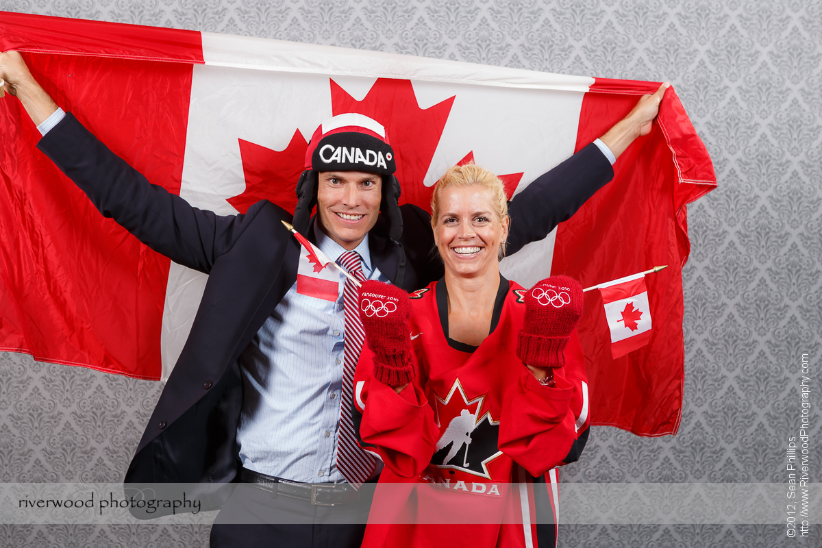 'Canadiana' Themed Wedding Photobooth