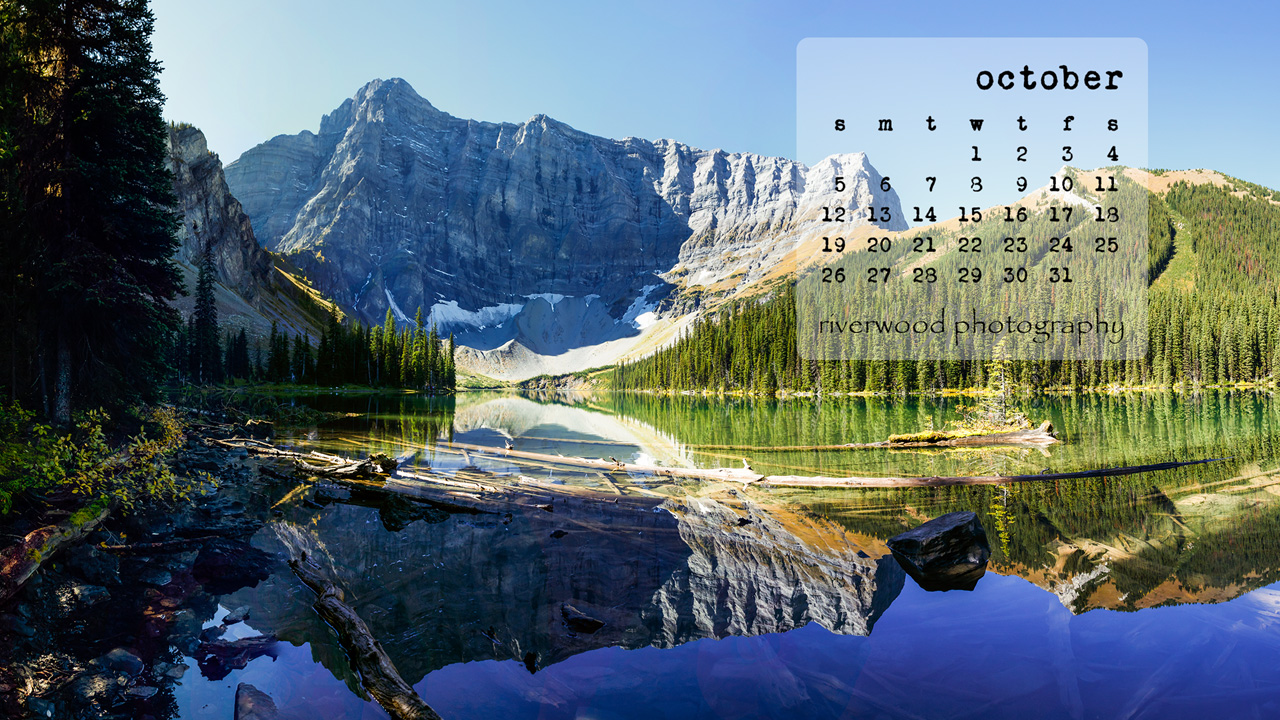 Free Desktop Wallpaper for October 2014