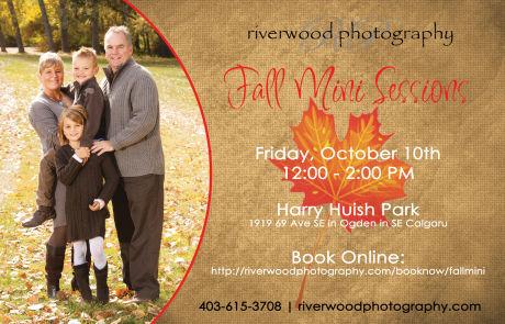 Fall Mini Portrait Sessions - October 2014