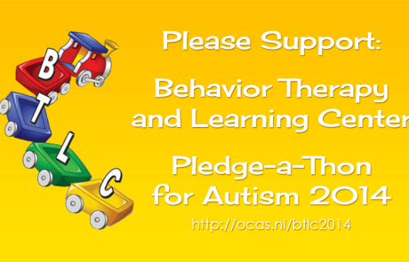 BTLC Pledge-A-Thon for Autism 2014
