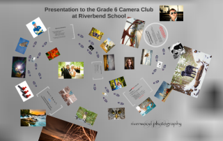Presentation to the Grade 6 Camera Club at Riverbend School