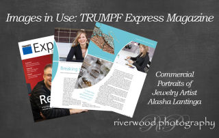 Commercial Photography for TRUMPF Magazine