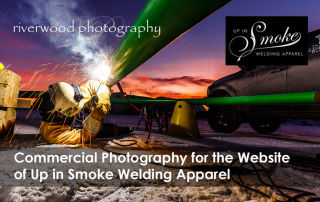 Industrial Photography for Up In Smoke Welding Apparel
