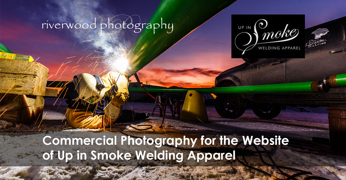 Commercial Photography for Up in Smoke Welding Apparel