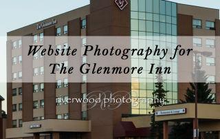 Website photography for the Glenmore Inn
