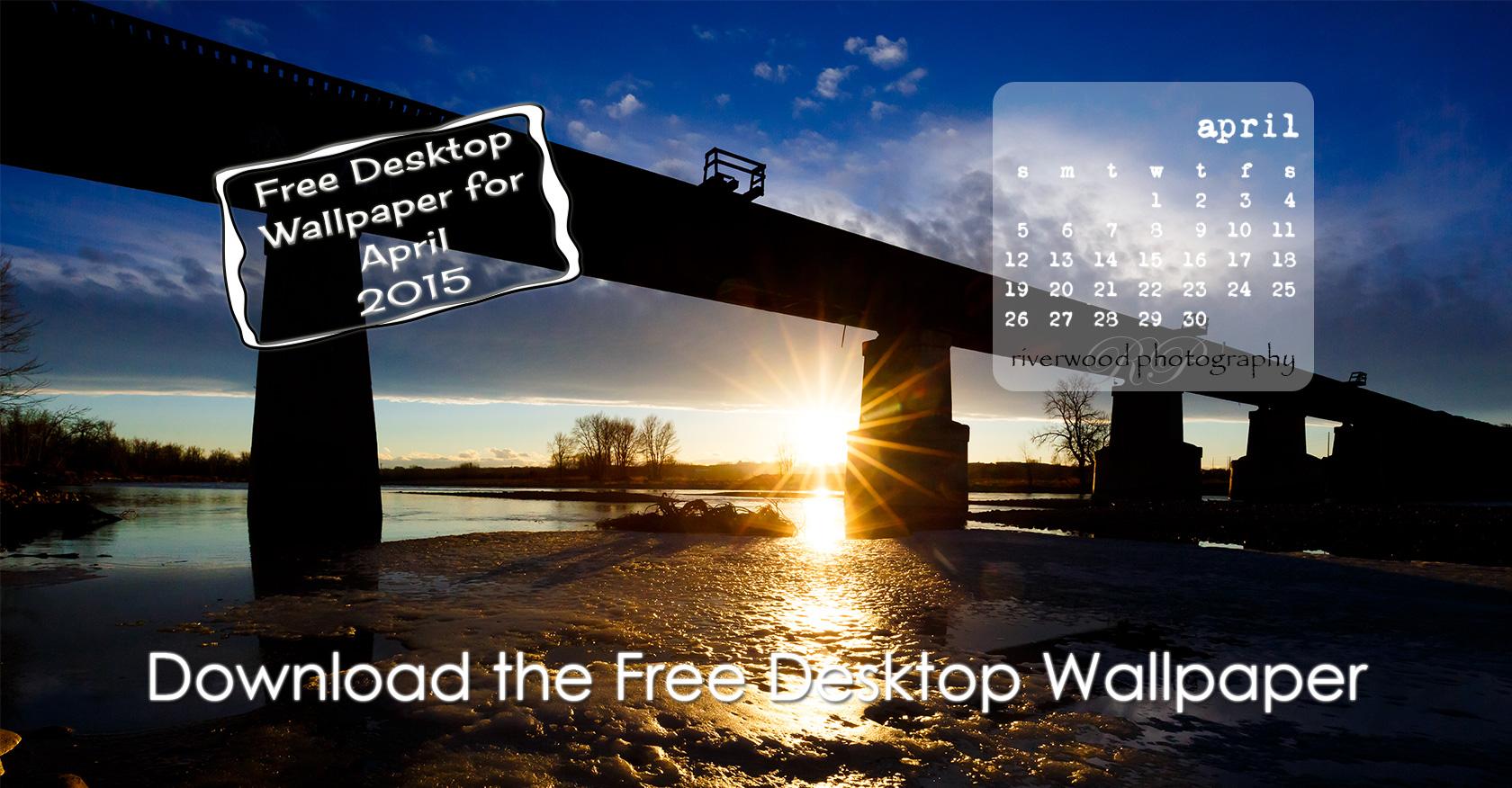 Free Desktop Wallpaper for April 2015