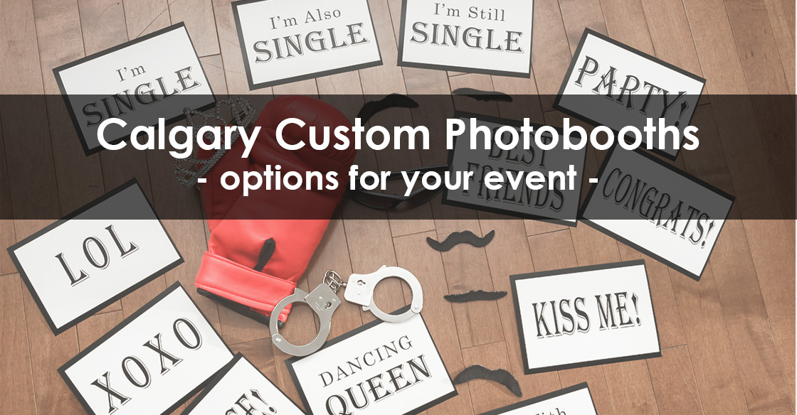 Photobooth Options for Your Upcoming Event